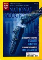 National Geographic N°151 : Titanic De Collectif (2012) - Non Classificati