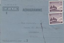 AUSTRALIA _ 7.12.1959  /  ITALIA - AEROGRAMME_ BAY AIR MAIL - 1952-65 Elizabeth II: IEmissione Prima Decimali