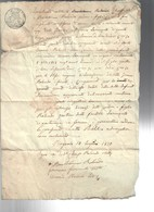 10 Luglio 1830 Carta Bollata 30 Cent. COD Bu.277 - Decreti & Leggi
