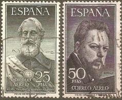 ESPAÑA LEGAZPI Y SOROLLA EDIFIL NUM. 1124/5 SERIE COMPLETA USADA - 1951-60 Nuevos & Fijasellos