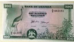 Billet Ouganda 100 Schilling - Ouganda