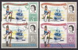 Tristan Da Cunha Used Set - Ships