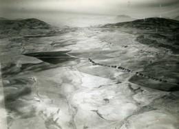 Algérie Vue Aerienne De Mons Near Setif Huilerie Peritgoville Ancienne Photo 1935 - Afrique