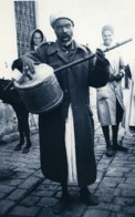 Tunisie Carthage Etude Portrait Musicien Ancienne Photo Leon Lemaire 1935 - Afrique