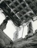 Tunisie Carthage Etude Architecture Statues Plafond Ancienne Photo Leon Lemaire 1935 - Afrique