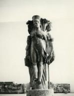 Tunisie Carthage Etude Architecture Sculpture Ancienne Photo Leon Lemaire 1935 - Afrique
