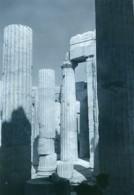 Tunisie Carthage Etude Architecture Colonnes Ancienne Photo Leon Lemaire 1935 - Afrique