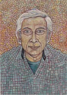 Illustrateur ANDRE ROUSSEY AUTOPORTRAIT NEUF VIES - Roussey