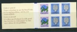 Canada 1970 Booklet - Unused Stamps