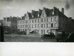 France Bergues Reconstruction Voitures Camion Ancienne Photo 1956 - Places
