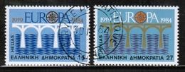 CEPT 1984 GR MI 1555-56 GREECE USED I - Europa-CEPT