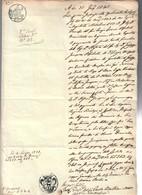 30 Giugno 1838  Bollo Reale Toscano COD Bu.279 - Decreti & Leggi