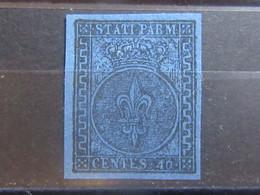 ITALY Italian States Italia Stati 1852 PARMA Mint No Gum - VF - Ref54e10215 - Parma