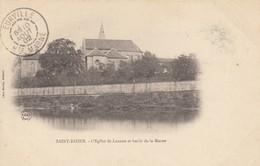 SAINT-DIZIER (Haute-Marne): L'Eglise De Lanoue Et Bords De La Marne - Saint Dizier