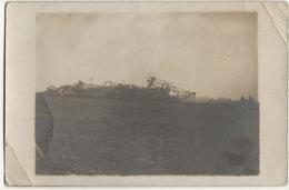 SAINT CLEMENT  -  CARTE PHOTO  -  Zeppelin Abbattu - Autres Communes