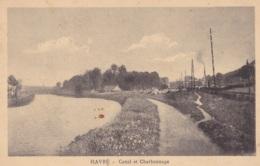 Havré Canal Et Charbonnage Circulée En 1923 - Mons