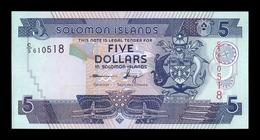 Islas Salomon Solomon 5 Dollars 2012 Pick 26 New SC UNC - Isla Salomon