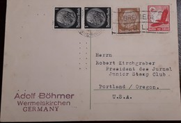 O) 1933 CIRCA - GERMANY, PRES. VON HINDENBURG SC 401 3pf - SC 415 1pf, SWASTIKA SU AND EAGLE- SC C47 10pf, ADOLF BOHMER - Germany