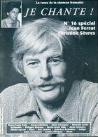 Je Chante ! N°16 : Jean Ferrat / Christine Sèvres De Collectif (1994) - Livres, BD, Revues