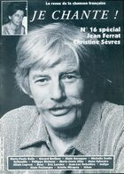 Je Chante ! N°16 : Jean Ferrat / Christine Sèvres De Collectif (1994) - Bücher, Zeitschriften, Comics