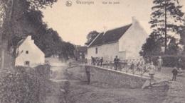 Wasseiges Vue Du Pont Circulée En 1908 - Wasseiges
