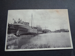 Belgique  België  ( 2445 )    Rupelmonde ( Kruibeke )  Chantier Naval   Scheepswerf - Kruibeke
