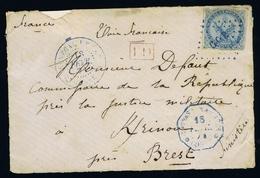 COLONIES FRANCAISES YV NR 4 CACHET GOR SENEGAL  FRONT OF COVER - Aigle Impérial