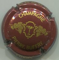 CAPSULE-CHAMPAGNE BUFFRY Pierre N°01 Marron & Or - Champagne