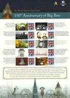 Gran Bretagna, 2009 CS5 150° Ann. Del Big Ben, Smiler, Con Custodia, Perfetto - Personalisierte Briefmarken