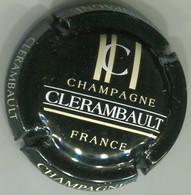 CAPSULE-CHAMPAGNE CLERAMBAULT N°15a Noir Barres Crème - Altri