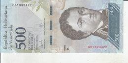 Venezuela - 500 Bolívares - Venezuela