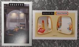 Seletti Lot De 2 Carte Postale - Advertising