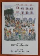 Relais La Palma Carte Postale - Advertising