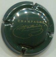 CAPSULE-CHAMPAGNE MATHIEU Serge N°18 Vert Foncé & Or - Champagne