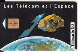 FRANCE - Satellite & Earth, 10/97, Used - Ruimtevaart