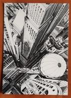 Parachute In Manhattan Carte Postale - Advertising