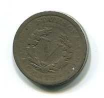 1911 USA LIberty Nickel 5  Cent Coin - 1883-1913: Liberty