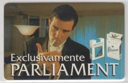 ARGENTINA 1996 CIGARETTES PARLIAMENT FILM ACTOR ANTONIO BANDERAS - Argentinien