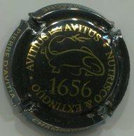 CAPSULE-CHAMPAGNE PIERRE D'AVISTA N°01 Noir & Or 1656 - Champagne