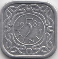@Y@    Suriname  5 Cent  1982  (4626) - Surinam 1975 - ...