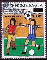 (976) Honduras 1978 Airmail - The 7th Youth Football Championshipo Used/gestempelt (A-8-9) - Honduras