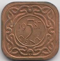 @Y@    Suriname  5 Cent  1987  (4629) - Suriname 1975 - ...