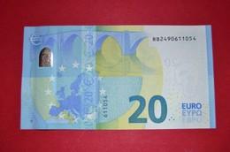 20 EURO R012 I6 DEUTSCHLAND / GERMANY - R012I6 - (Berlin) RB2490611054 - UNC NEUF - 20 Euro