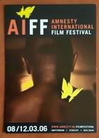 Amnesty International Film Festival Carte Postale - Advertising