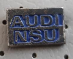 Car Audi NSU Vintage Pin - Audi