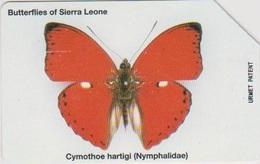 #13 - SIERRA LEONE-01 - BUTTERFLY - Sierra Leone