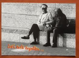 Let's Talk Togheter Carte Postale - Advertising