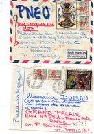 Deux Jolies Lettres Pneumatiques Chatenay-Malabry Vers Paris - Marcophilie (Lettres)