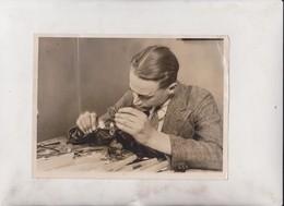 Artificial Eye Making Oxford Street    20*15CM Fonds Victor FORBIN 1864-1947 - Profesiones