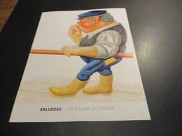 Feuillet Publicité Médicale - Médicament (21x27cm) - SALVODEX  L'antitussif De L'adulte - Publicités